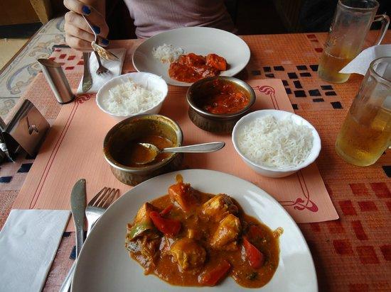 Indian Tandoor House: El menu 2