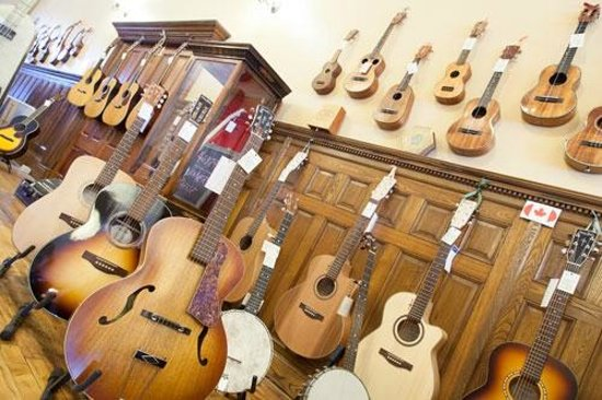 Putnam, CT: Our collection of Guitars, Ukuleles, and Banjos