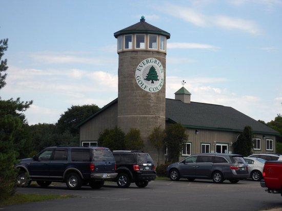 Evergreen Golf Course: MI-GH-Evergreen-sign