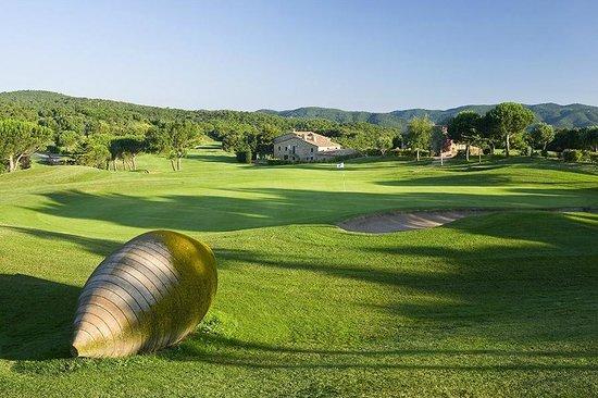 Club de Golf D'Aro - Mas Nou: Hole Green 18
