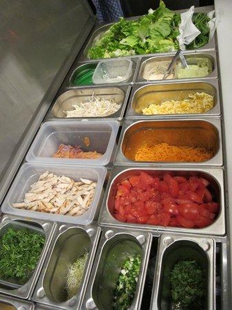 Luncheonette Cafe: produits frais, préparer a la minute