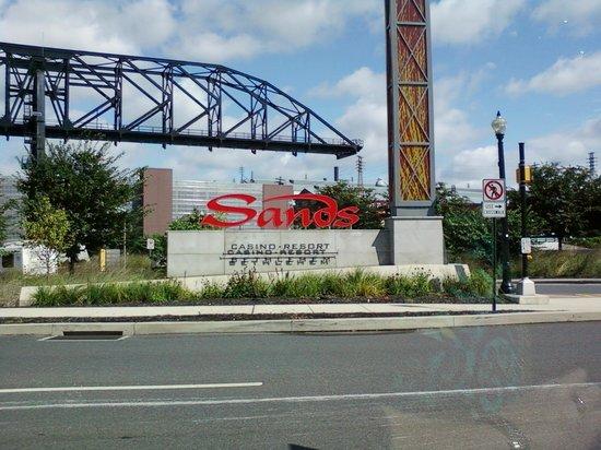 Sands casino bethlehem pa outlet stores