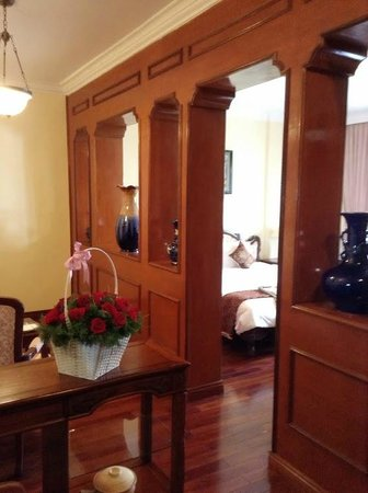 Hotel Saigon Morin: La nostra suite