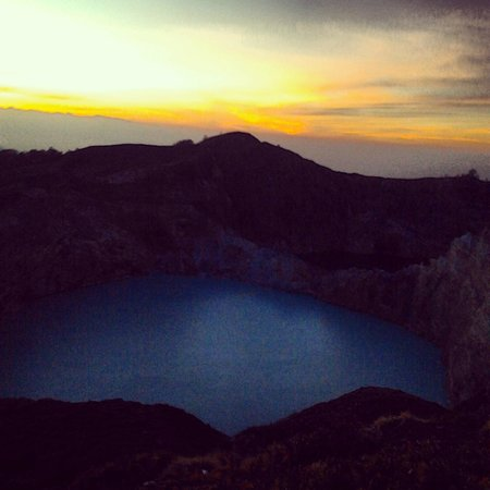 Mount Kelimutu: El amanecer