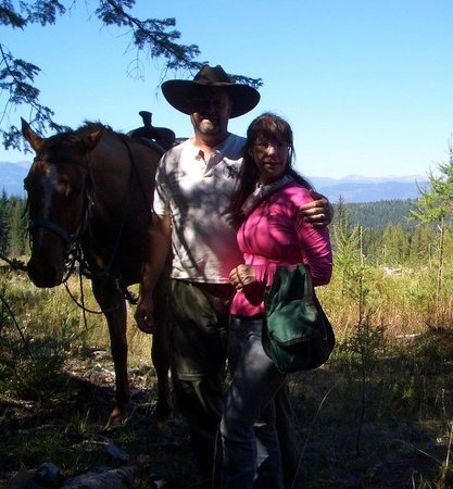 Western Pleasure Guest Ranch: At the top of a mountain with views for miles.
