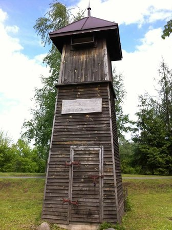 Dom Polonii : A medieval watchtower (modern replica)