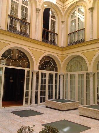 Petit Palace Plaza Malaga: Spazio comune