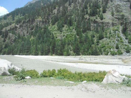 Uttarkashi, India: Glacier point of Gangotri