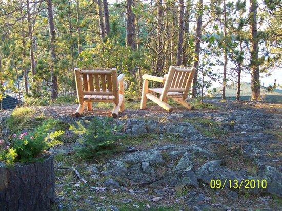 Burntside Lodge: best seats in the house