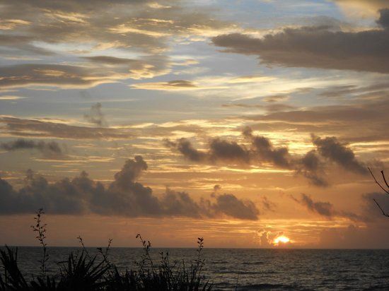 The Silver Sands Saint Augustine: sunrise over the Atlantic