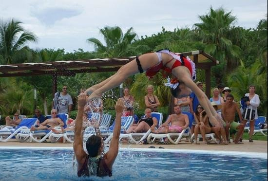 Blau Varadero Hotel Cuba: Show acuatico