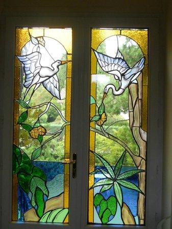 Les Jardins D'Aika : porte d'entrée, magnifique