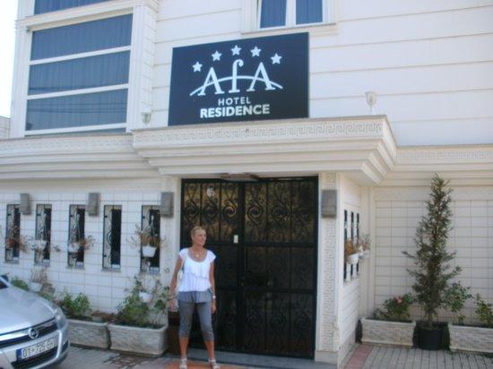 Hotel AFA Residence : entrée