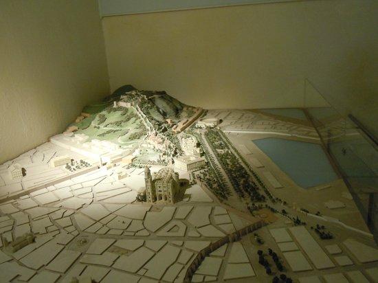 Castillo de Gibralfaro : maquette 1
