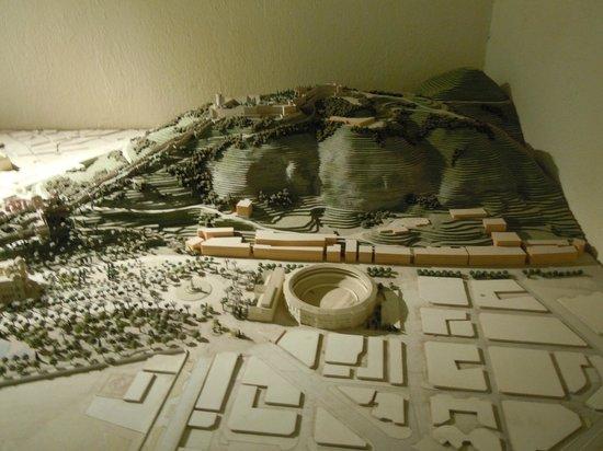 Castillo de Gibralfaro : maquette 2