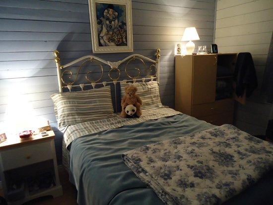 Au pied du phare: Notre chambre pendant notre séjour