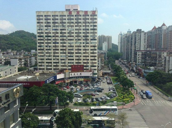 Zhuhai Bamboo Hotel: Outside view from room