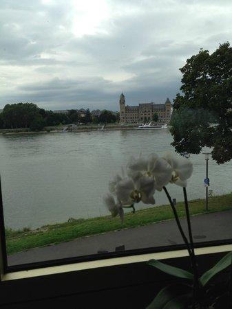 Diehls Hotel : Rhine view.