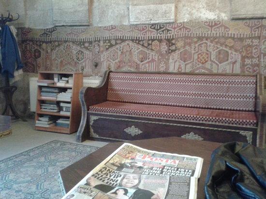 Hotel Cappadocia Palace: Lobby area