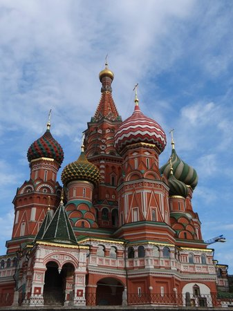 Moscow Private Tours : St. Basil's Red SQuare