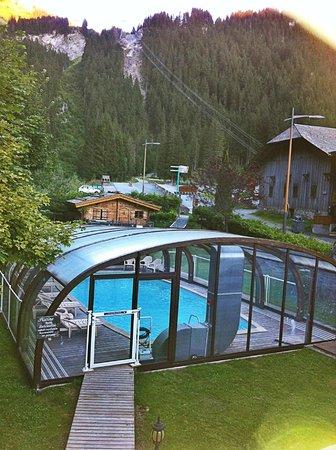 Hotel Neige et Roc : Vue de la chambre #1
