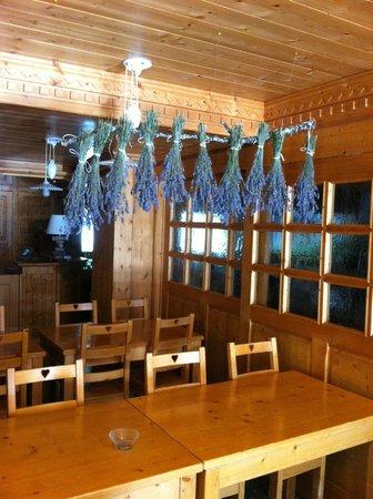 Hotel Neige et Roc : Salon du petit-déjeuner