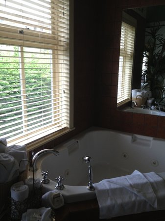Humboldt House Bed & Breakfast Inn: jacuzzi tub