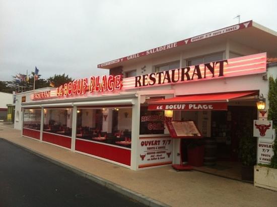 le boeuf plage jean de monts restaurant avis num 233 ro de t 233 l 233 phone photos tripadvisor