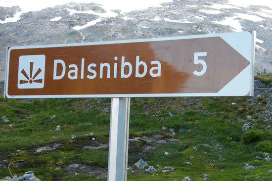 Djupvasshytta: L'hotel est juste au pied de la route de Dalsnibba