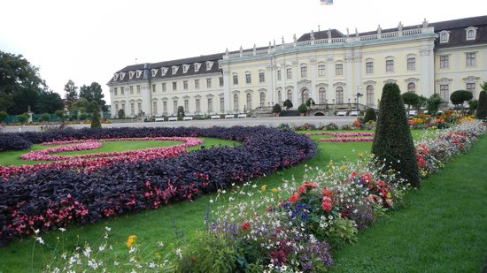 Ludwigsburg Palace (Residenzschloss) : Front of the Castle