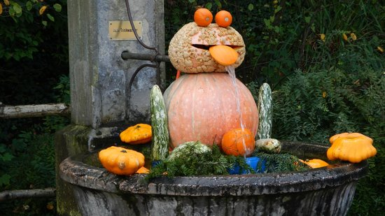 Ludwigsburg Palace (Residenzschloss) : Pumpkin carvings