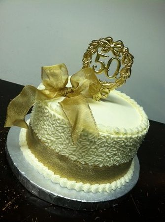 Cakes By Bakin Bishop 50th Anniversary Cake