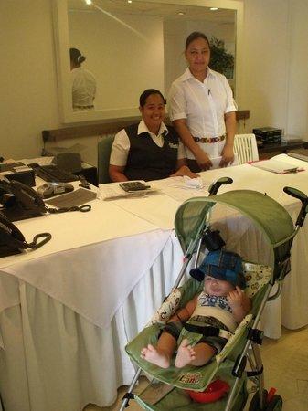 Hotel Casablanca : Recepcion- Provisional por Remodelacion