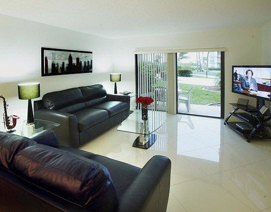 Canaveral Towers Condominiums: livingroom/den
