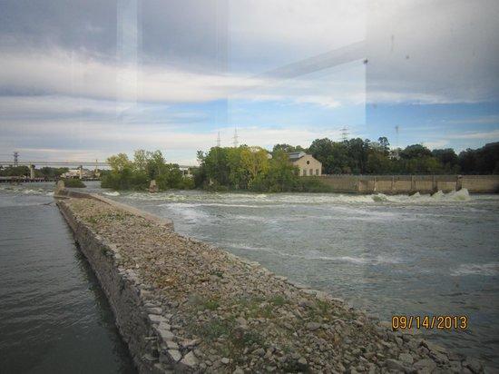 Fratello's Riverfront Restaurant: river view