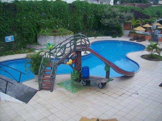 Sarana Praia Hotel: vista da sacada do apartamento