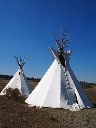 Big Bar Guest Ranch: Tipis