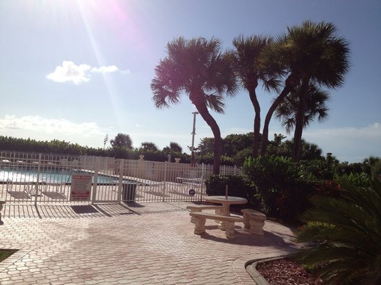 Canaveral Towers Condominiums : Pool area