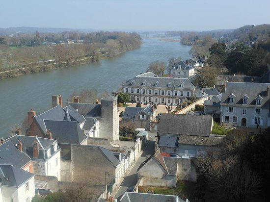 Le Choiseul : View of Amboise from the Chateau