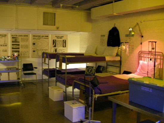 VISIT THE BUNKER - RAF Holmpton: THE BUNKERS' VERY OWN HOSPITAL