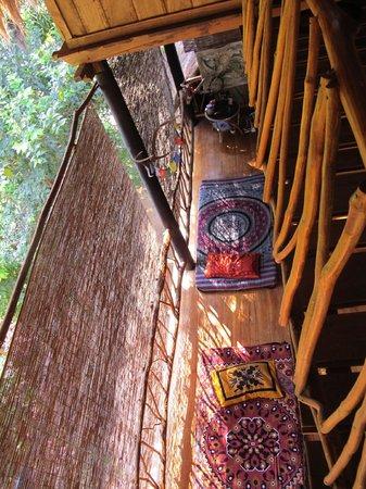 Saa Ma Ya Village: looking down from the room