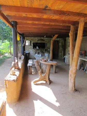 Saa Ma Ya Village: dinning area downstairs