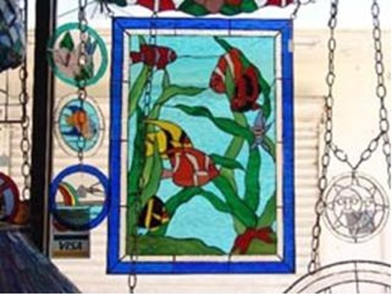Tijuana, México: Lovely Stained Glass (Photo by Robert Mohr)