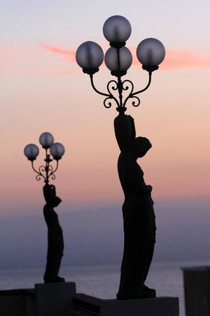 Hotel Augustus: lampioni