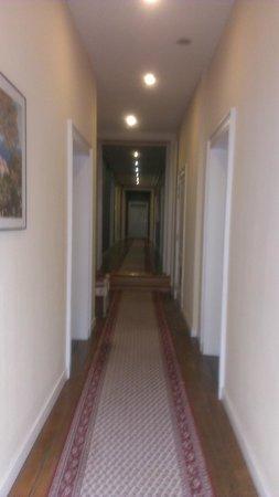 Chateau de Limont: couloir premier étage