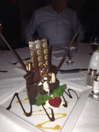 Ocean House Restaurant : chocolate dessert