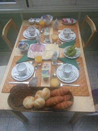 Parkzijde Bed & Breakfast: Colazione
