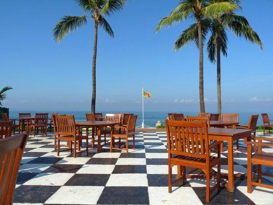 โรงแรมแกลเล เฟซ: View from dining room