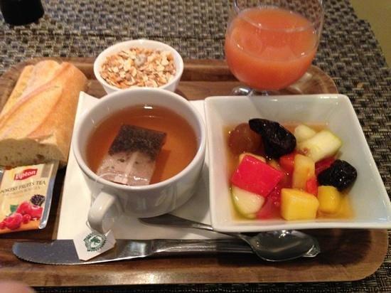 Hotel Donibane: petit déjeuner