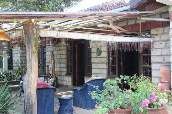 Macushla House: Outside seating area